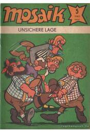 Unsichere lage - Mosaik 1980/5 - Régikönyvek