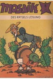 Des ratsels lösung - Mosaik 1981/8 - Régikönyvek