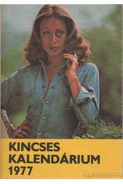 Kincses Kalendárium 1977 - Régikönyvek