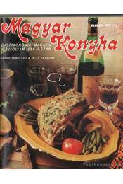 Magyar Konyha 1986. X. évfolyam (teljes) - F. Nagy István, Sz. Simon István - Régikönyvek