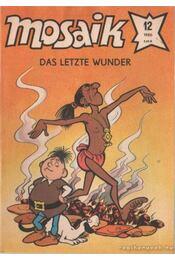 Das letzte wunder - Mosaik 1986/12 - Régikönyvek