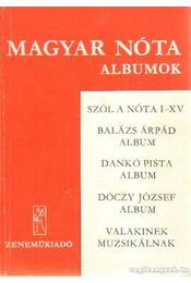 Magyar nóta albumok - Régikönyvek