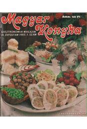 Magyar Konyha 1985. IX. évfolyam (teljes) - F. Nagy Angéla - Régikönyvek