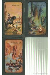 Winnetou I-III. kötet (német nyelvű) - Karl May - Régikönyvek