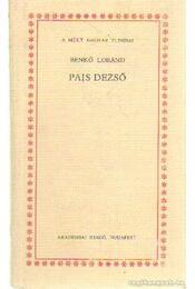 Pais Dezső - Benkő Loránd - Régikönyvek