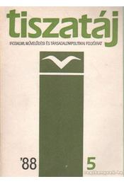 Tiszatáj 1988/5 - Kaposi Márton - Régikönyvek