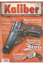 Kaliber 2001. október 4. évf. 10. szám (42.) - Vass Gábor - Régikönyvek