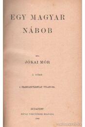 Egy magyar nábob I-II. kötet - Jókai Mór - Régikönyvek