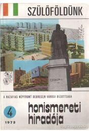 Szülőföldünk 1973. 4. szám - Régikönyvek