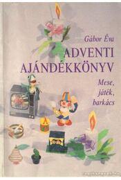 Adventi ajándékkönyv - Gábor Éva - Régikönyvek