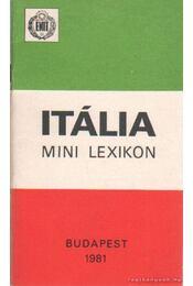 Itália minilexikon - Dr. Dombi József - Régikönyvek