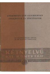 Anekdoták és történetek - Régikönyvek