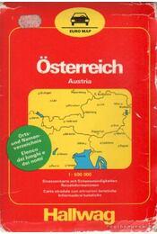 Österreich (térkép) (1:600 000) - Régikönyvek