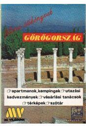 Görögország  - Filléres útikönyvek - Több szerző - Régikönyvek