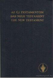 Az Új Testamentum - Régikönyvek