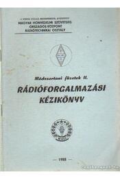 Rádióforgalmazási kézikönyv - Paskuly Imre - Régikönyvek