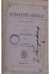 Budapesti szemle VII-VIII kötet 13. szám 1875 január-február - Gyulai Pál - Régikönyvek