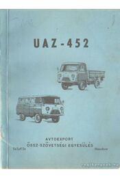 UAZ-452 gépkocsi és változatai - Régikönyvek