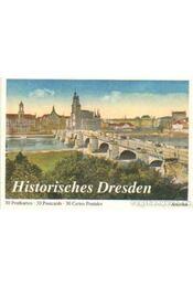 Historisches Dresden - 30 Postkarten - Régikönyvek
