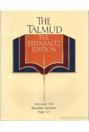 The Talmud - The Steinsaltz Edition - Random House - Régikönyvek