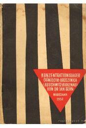 Konzentrationslager Oswiecim-Brzezinka (Auschwitz-Birkenau) - Sehn, Jan - Régikönyvek