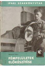 Fémfelületek előkészítése - Németh Tibor - Régikönyvek