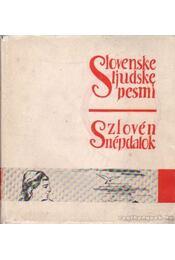 Szlovén népdalok - Régikönyvek