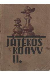 Játékos könyv II. - Velősy Béla - Régikönyvek