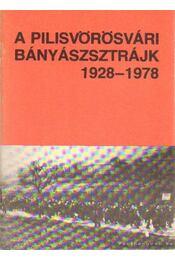 A pilisvörösvári bányászsztrájk 1928-1978 - Régikönyvek