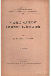 A szőllő kártékony rovarairól és írtásukról - Id. Perenyi József dr. - Régikönyvek