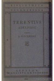 P. Terenti Afri Adelphoe - Fleckeisen, A. - Régikönyvek