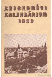 Kecskeméti kalendárium 1988 - Régikönyvek