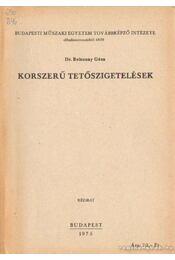 Korszerű tetőszigetelések - Beleznay Géza dr. - Régikönyvek