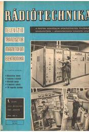 Rádiótechnika 1967. évfolyam (hiányos) - Stefanik Pál - Régikönyvek