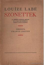 Szonettek - Labé, Louise - Régikönyvek