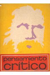 Pensamiento crítico 1970/40 - Több szerző - Régikönyvek