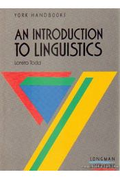 An introduction to linguistics - Todd, Loreto - Régikönyvek