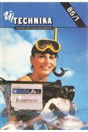 Új Technika 85/1 - Aba Iván - Régikönyvek