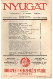 Nyugat 1936. április 4. szám - Gellért Oszkár, Babits Mihály - Régikönyvek
