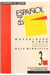 En Espanol - Materiales Video - Régikönyvek