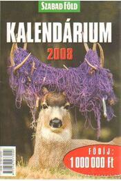 Szabadföld kalendárium 2008 - Dulai Sándor - Régikönyvek