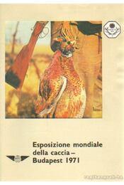 Esposizione mondiale della caccia - Budapest 1971 - Régikönyvek
