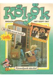 Kölyök magazin 1987. szeptember-október - Berkes Péter - Régikönyvek