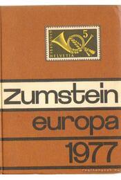 Briefmarken-Katalog Zumstein - Régikönyvek