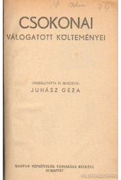 Csokonai válogatott költeményei- Népregék virágregék - Csokonai Vitéz Mihály, Tompa Mihály - Régikönyvek