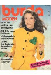 Burda Moden Januar 1989 (német nyelvű) - Régikönyvek