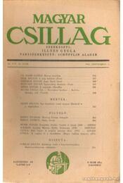 Magyar Csillag 1943. szeptember 18. szám - Illyés Gyula - Régikönyvek