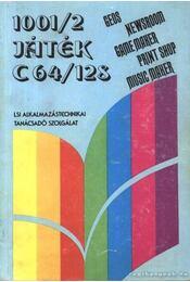 1001/2 Játék C64/128 - Kiss László, Schmidt Endre - Régikönyvek