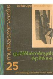 Gyűjtőkémények építése - Sinka Ferenc - Régikönyvek
