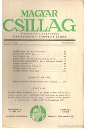 Magyar Csillag 1944. január 2. szám - Illyés Gyula - Régikönyvek